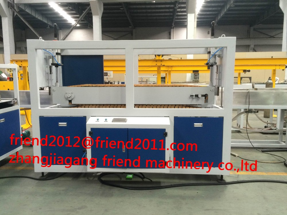 2016 Competitive Price PE PP PPR pipe traction machine production line
