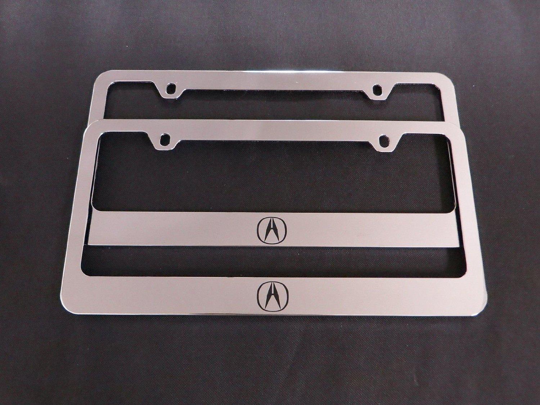 Buy Acura Logo Chrome License Plate Frames Pcs In Cheap Price On - Acura license plate frame