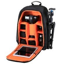 new products PULUZ Outdoor camera backpack Waterproof Scratch-proof Dual Shoulders Backpack for dslr camera