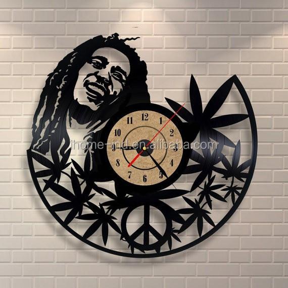3d Acrílico Arte Pared Reloj Promoción Disco De Vinilo Decorativo ...