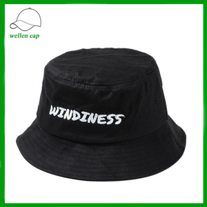 a53969dc14c fashionable headwear supreme black hat embroidered logo bowler hat bucket  hat for wholesale