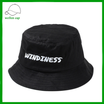 fashionable headwear supreme black hat embroidered logo bowler hat bucket  hat for wholesale 41a053189bf