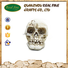 New Products wholesale halloween resin skull heads for decoration
