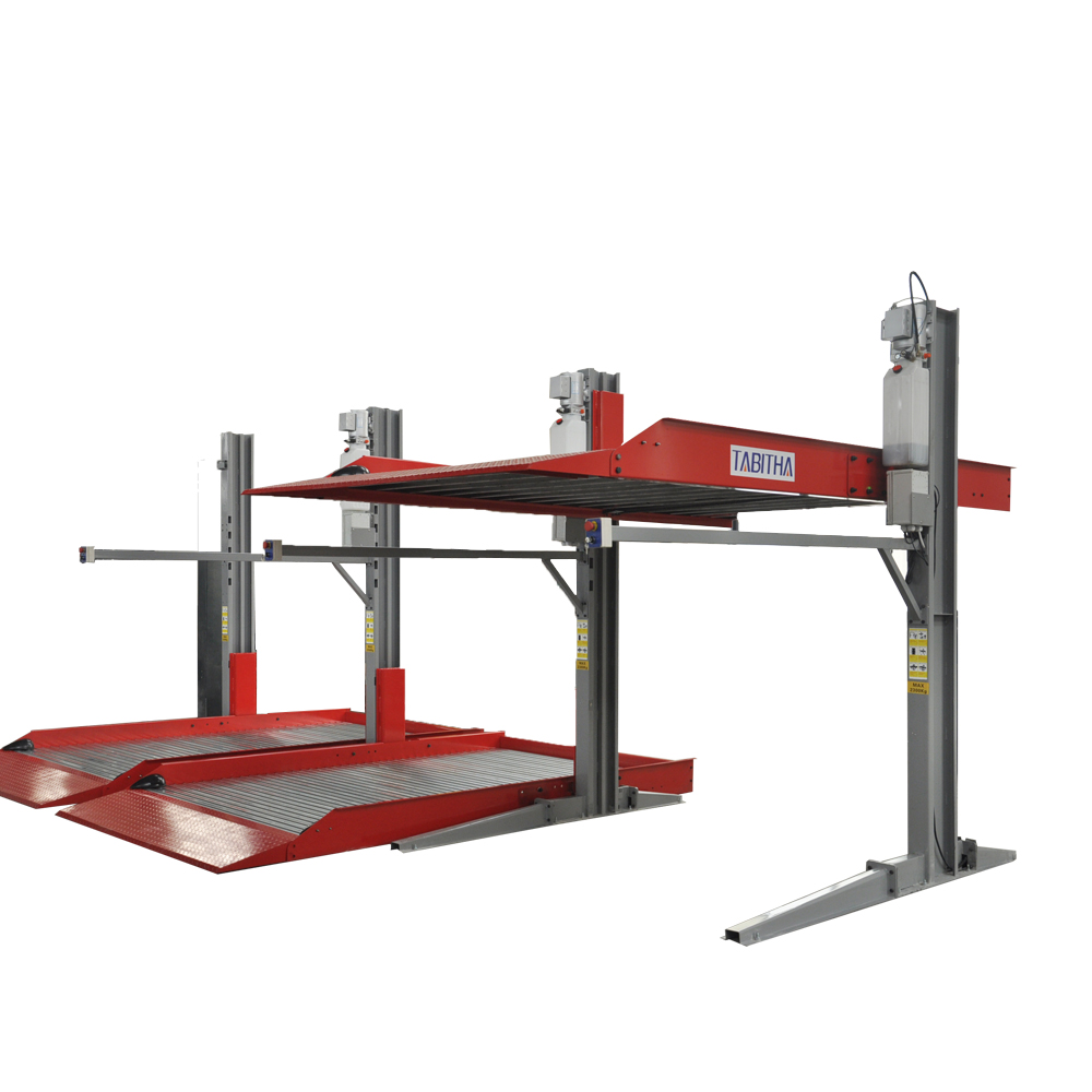 High quality two level  hydraulic car  parking lift system