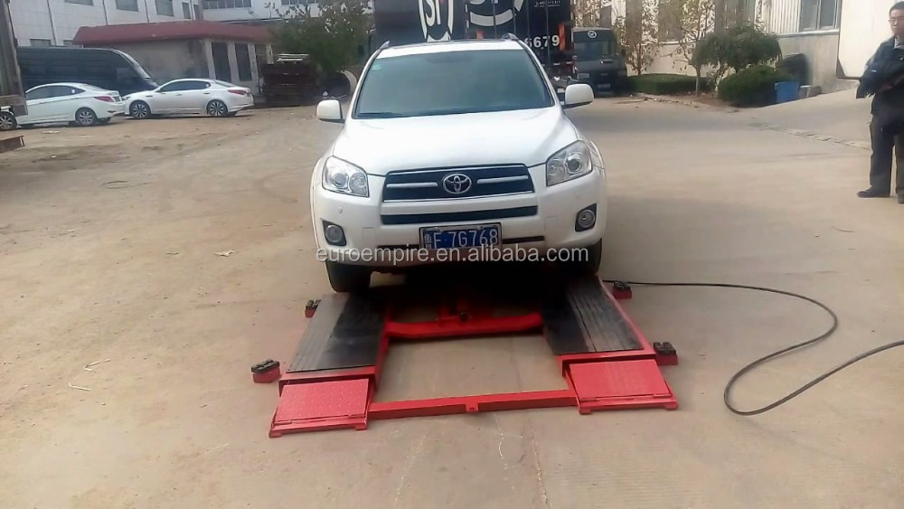 In Ground Hydraulic Car Lift Scissor Car Lift Tilting Mini Lift