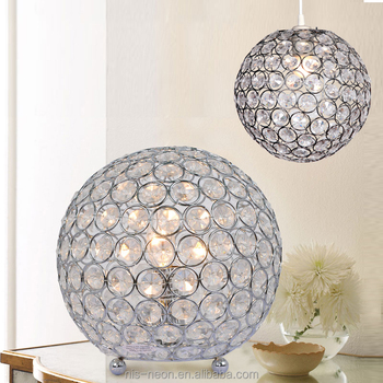 liam clear table white and ball stacked safavieh crystal lamp in p lamps