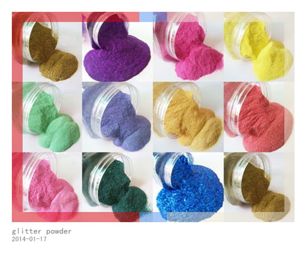 Colors UV Glitter Tattoo powder