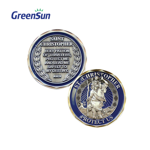 China Manufacturer First Choice metallic memorial coin