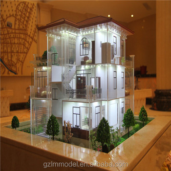 Éclairage Miniature Maquettes D'Architecture À Pour La Maison