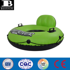 Durable Top quality day drifting inflatable river float tube with built in backrest single swimming river tube