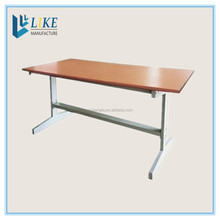 Library reading desk for students School furniture