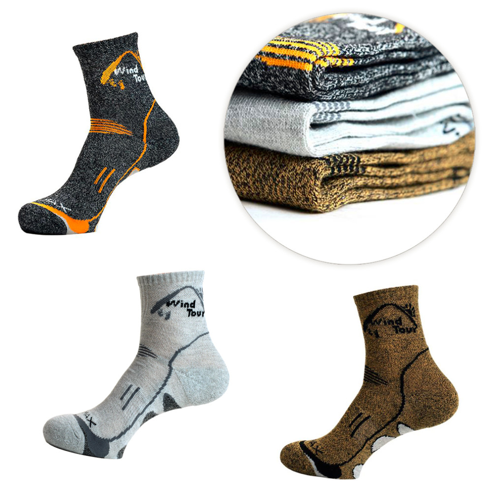 Unisex Thermal Running Winter Warm Sport Socks Mens & Womens Outdoors Comfortable Soccer Sock Coolmax