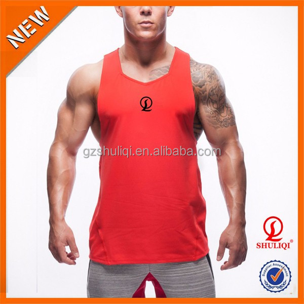 Muscle Men Bodybuilding Gym Singlets/Slim Fitness Men's OEM Tank Top Sports Clothes
