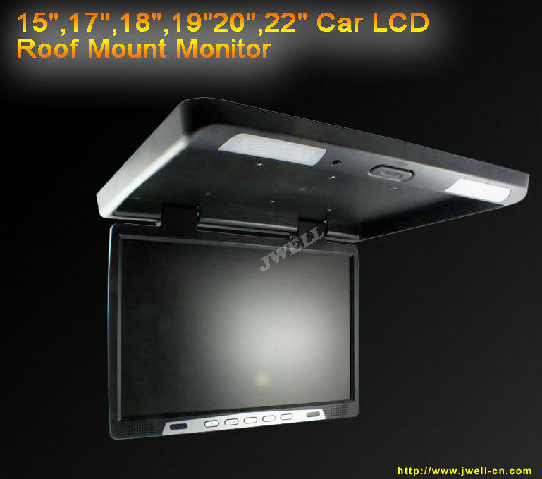 Super 18 Inch Roof Mount Car Tft Lcd Monitor