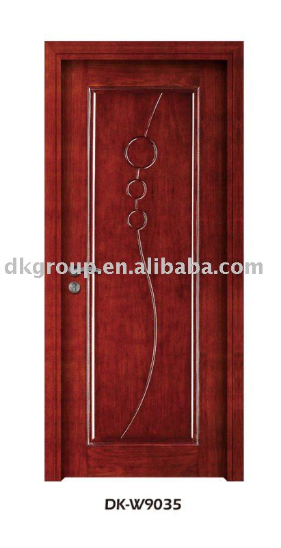 Attractive New Model Solid Wood Door ( Dk W9035   Buy Solid Wood Door,Interior Solid  Wood Door,Luxury Wood Skin Door Product On Alibaba.com