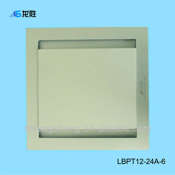 Durable Square Size Bathroom Exhaust Fan Lbpt12 24a 6