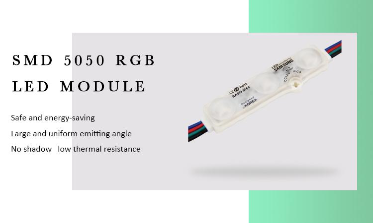 Street Light Len P10 Rgb 100W Mini Led Module 5050 5Leds