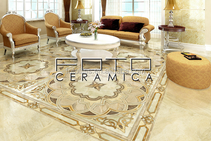 Living Room Marble Look Vitrified Floor Tiles Designs Part 34