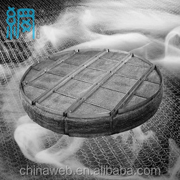 Wire Mesh Demister Pad China Supplier/ Mesh Demisters Producer ...