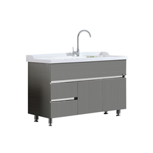 cheap kitchen cabinet High quality stainless steel sink cabinet