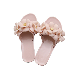 4ee19b675 Womens Flower Jelly Shoes