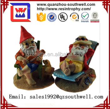 polyresin unique funny custom decorative garden gnomes - Funny Garden Gnomes