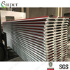 red color one side steel pu sandwich panel for roof application