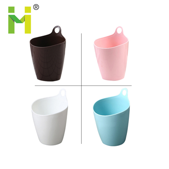 Office Use Mini Trash Can Plastic Desk Garbage Bin Desktop Waste