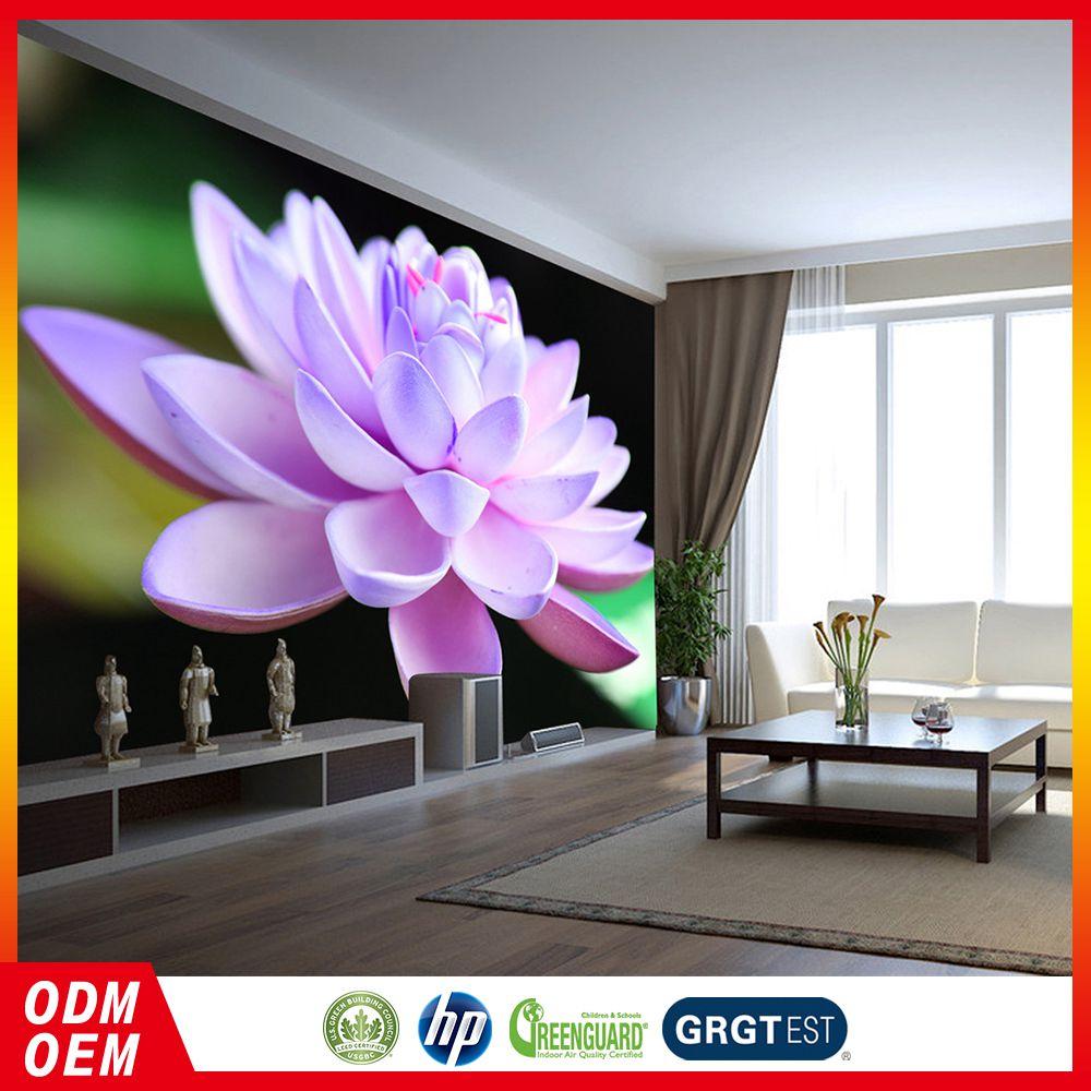 Cheapest Price Customizable Living Room Decorative Lotus Flower