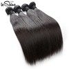 10A Grade Cuticle Aligned Human Hair Weave Bundles Virgin Brazilian Hair In Qingdao