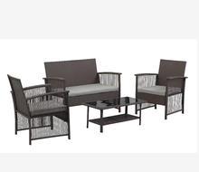 Special Design Patio 가구 Set <span class=keywords><strong>레저</strong></span> Usage PE 위커 등나무 Material Garden Sofa set/HB 41.9397
