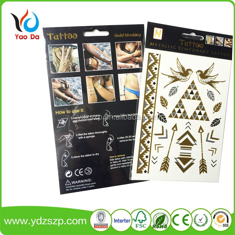 Hot Sale Temporary Tattoo male tribal tattoos