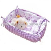 exquisite plush pet house&crib mat toy