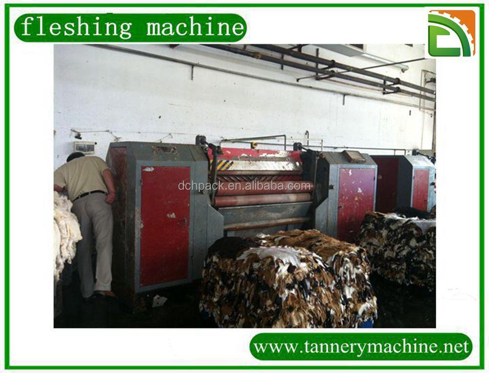 fleshing machine