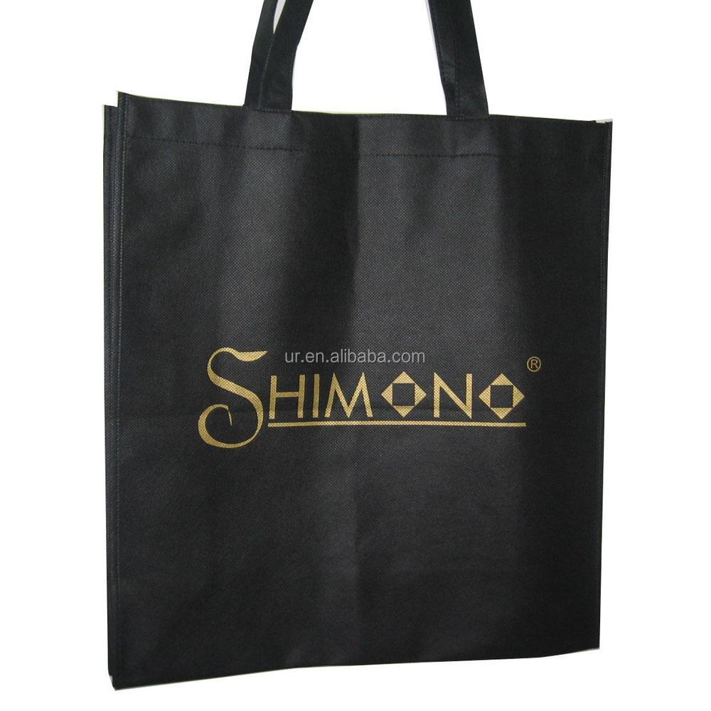 2015 Hot selling fashion design promotional cheap laminated non woven shopping bag