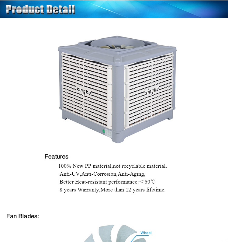 Evaporative Air Cooler China Supplier High Quality Cooler Parts ...