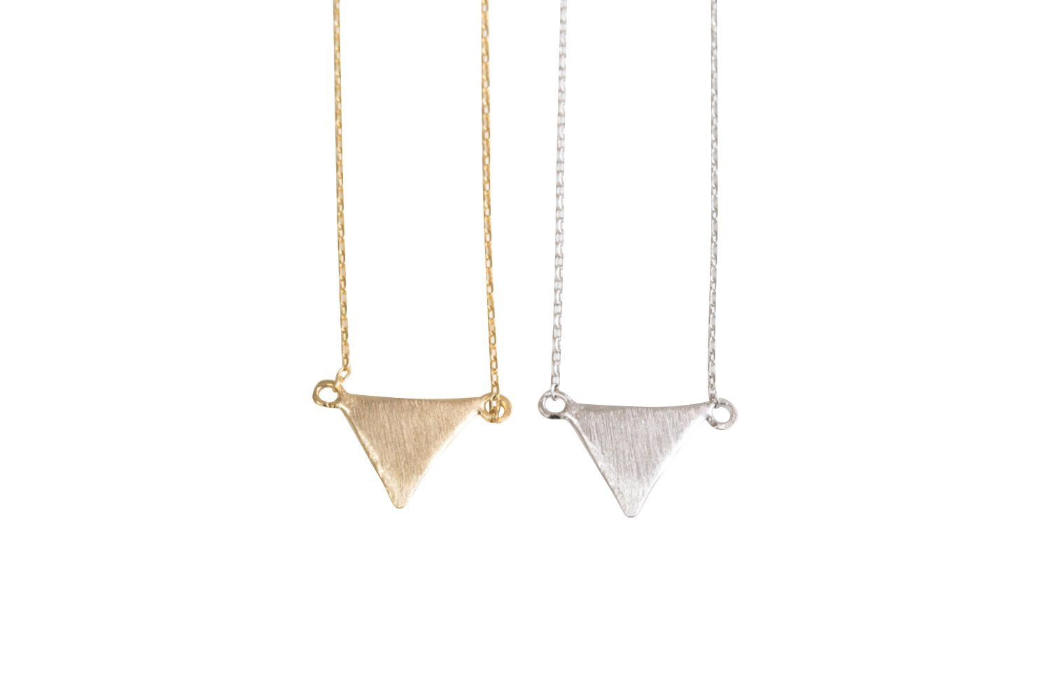 Upside Down Triangle Necklace-ep , triangle jewelry, triangle necklace, triangle shape jewelry, triangle shape necklace, triangle jewellry, geometric