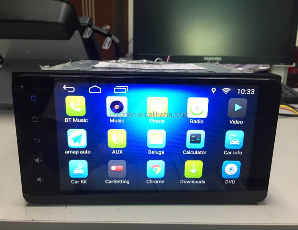 "7"" <strong>Android</strong> 6.0 Quad Core <strong>Universal</strong> Car MP5 Player Double Din 16GB With CE FCC Certificate For <strong>Toyota</strong> Corolla/Daihatsu Terios"