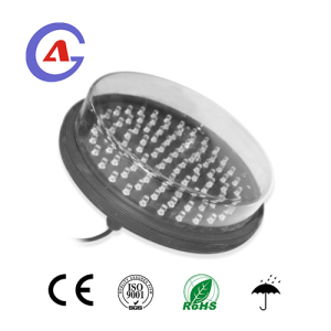 200mm Green led traffic light module with clear lens and fast delivery