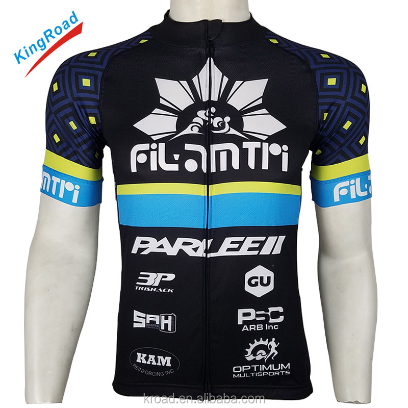Custom design your own wear sublimated clothing set china wholesale manufacturer cycling jersey