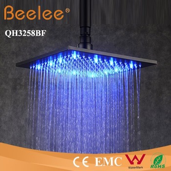 Ss 304 Bathroom Shower Stainless Steel Top Square Rain Heads Price