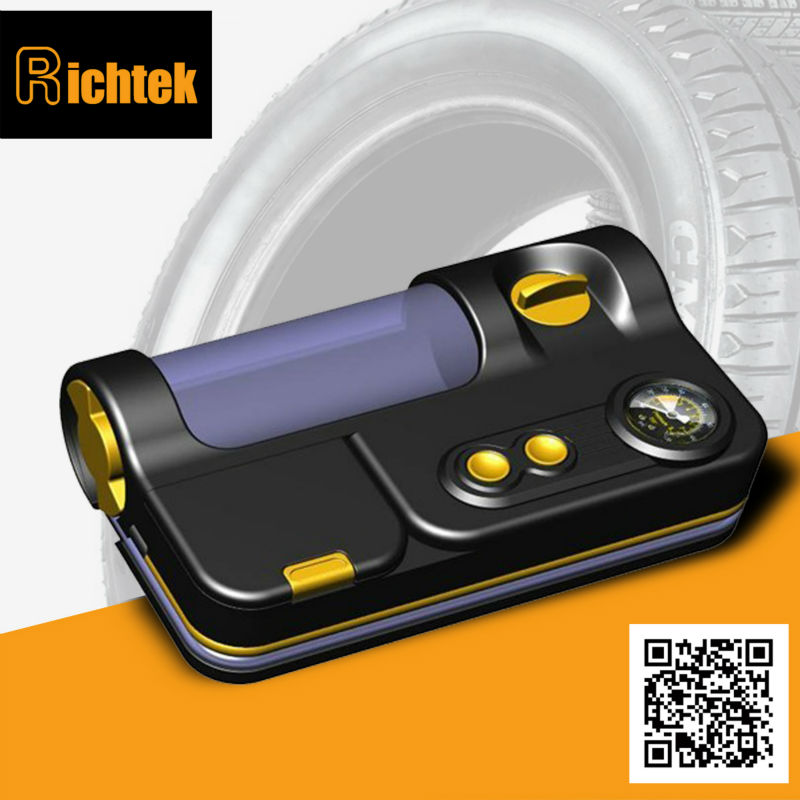 Hot Tyre Inflation Equipment Powerful Tire Sealant Inflator with Built-in Sealant Price