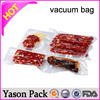 Yason hot flexible vacuum bags for food packaging pa/pe embossed food vacuum bags aluminum black vacuum food stoage sealed bag p