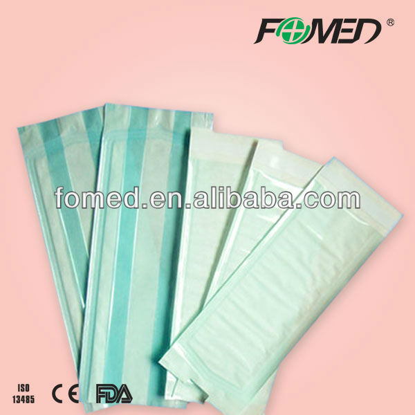 disposable sterile flat easy peel film pouch with CE & ISO