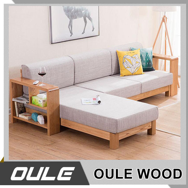 Modern Sofa Chair Designs: Custom High Quality Wood Frame Modern Furniture Design