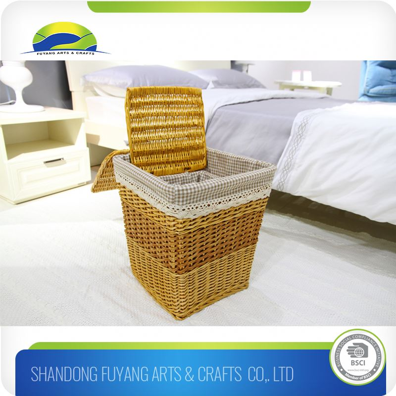 Cheap Quick Delivery Laundry Basket Folding Double Bright Color Laundry Basket