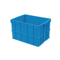 Solid stackable plastic turnover basket 765*550*465mm