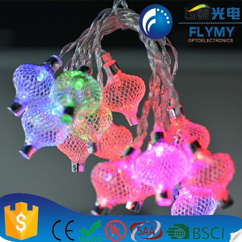 Alibaba Wholesale hot selling led Christmas holiday string hanging light with battery operated