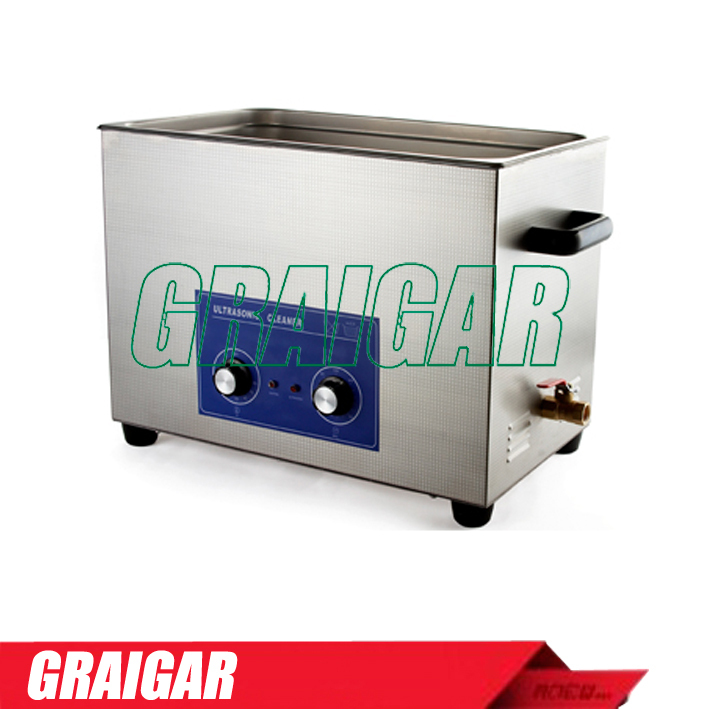 PS-100(with Timer & Heater) Large capacity Ultrasonic Cleaner Wide-Diameter Transducer for Best Cleaning Result