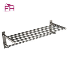 Factory Supply Brushed Bathroom Accessory Towel Rack Mounting Hardware Rack Shelf